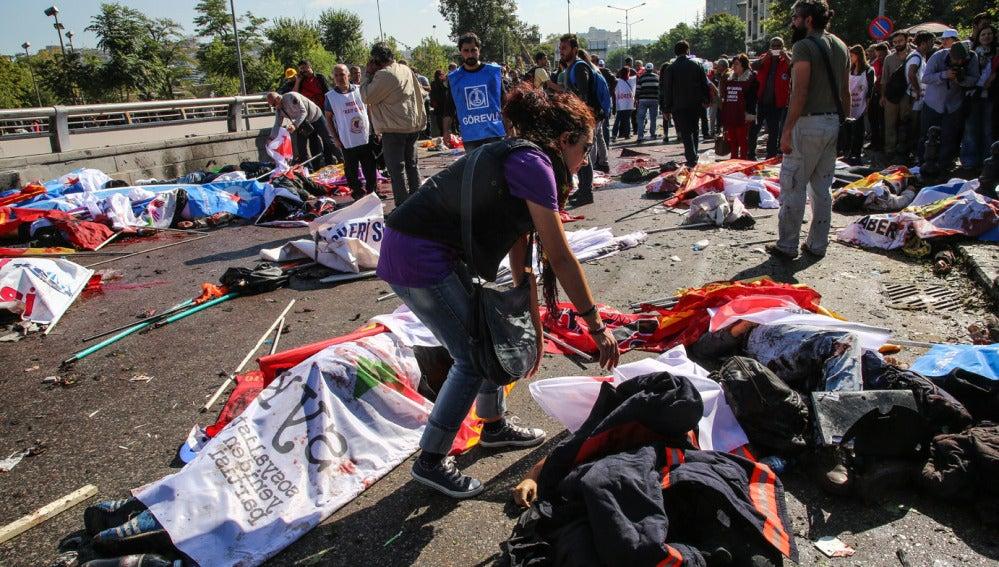 Doble atentado en Ankara