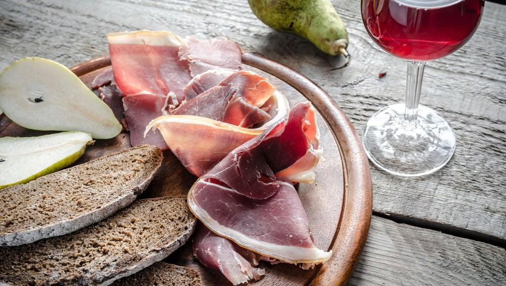 ¿Conoces la dieta del jamón y el vino?