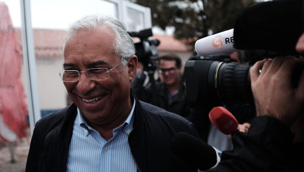 El líder del Partido Socialista portugués, António Costa