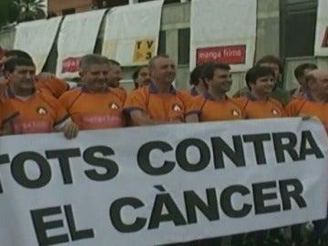 Cruyff, en una campaña contra el cáncer