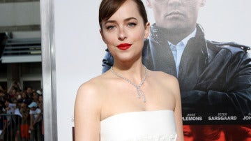 La actriz Dakota Johnson presenta 'Black Mass'