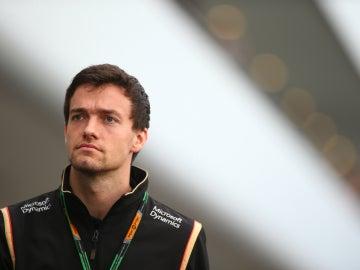 Jolyon Pamer, piloto de Lotus