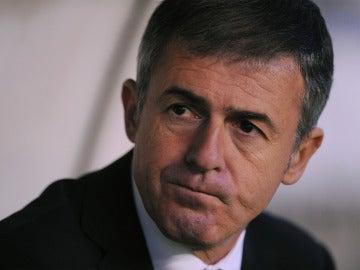 Lucas Alcaraz, durante un partido con el Levante