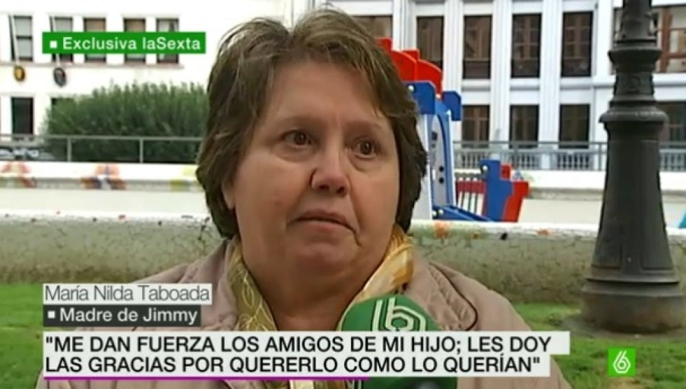 La madre de Jimmy, el aficionado del Depor que murió en Madrid
