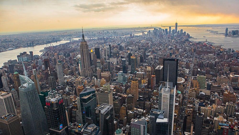 Imagen panorámica de la ciudad de Manhattan (EEUU).