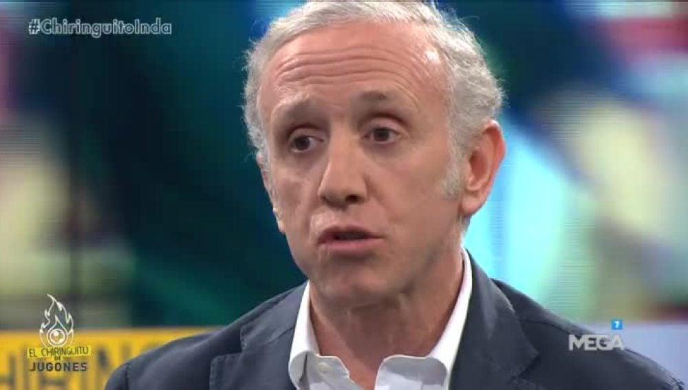 Eduardo Inda informa en 'El Chiringuito de Mega' sobre la difícil relación Benítez-Cristiano.