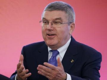 Thomas Bach, presidente del Comité Olímpico Internacional