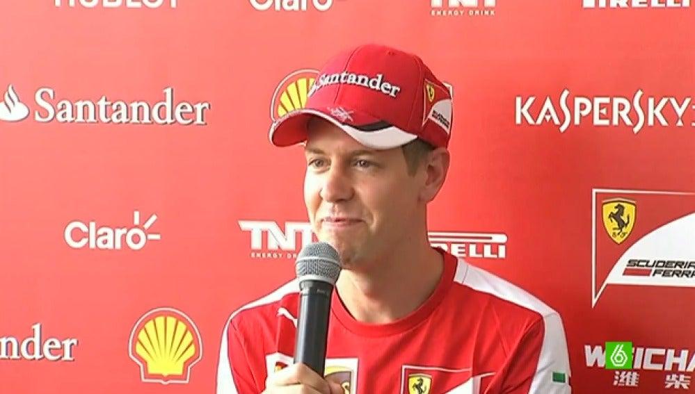Vettel, sobre la polémica