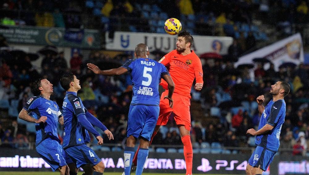 Getafe - Barcelona, temporada 2014/15