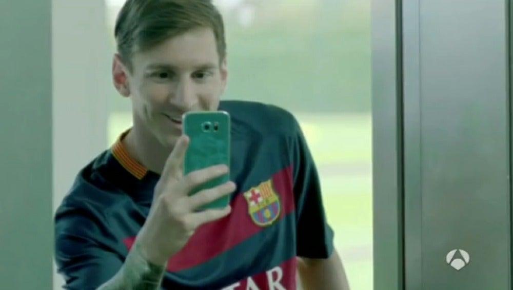 Messi, en un anuncio
