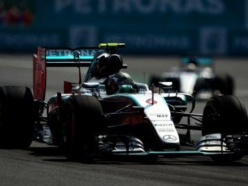 Rosberg en el GP de México