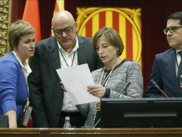 Carme Forcadell, presidenta del Parlament