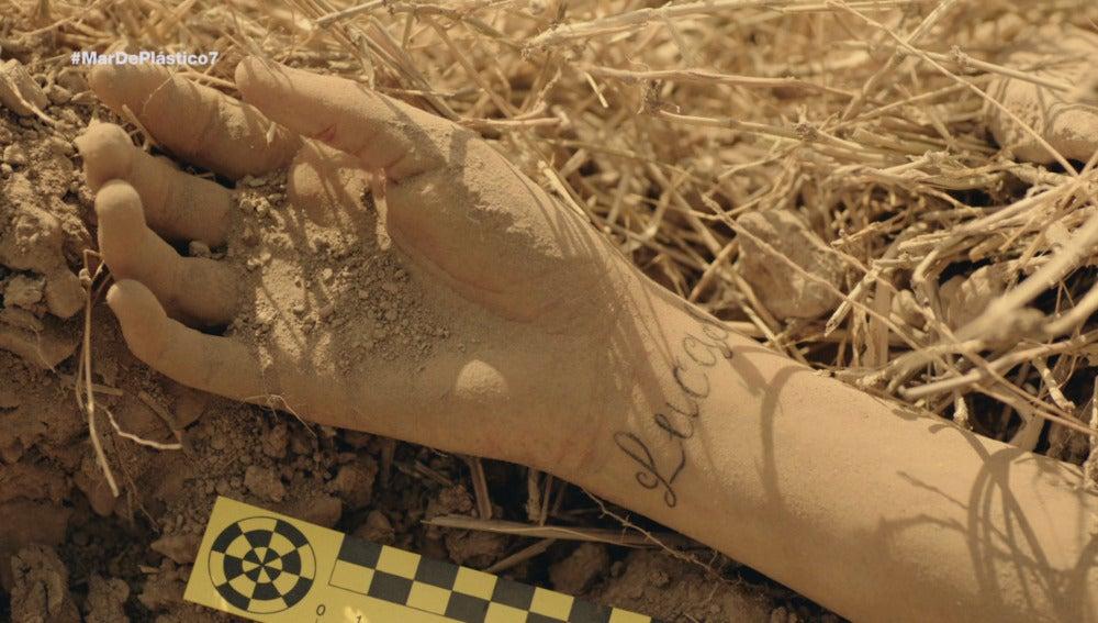 El brazo de Ainhoa