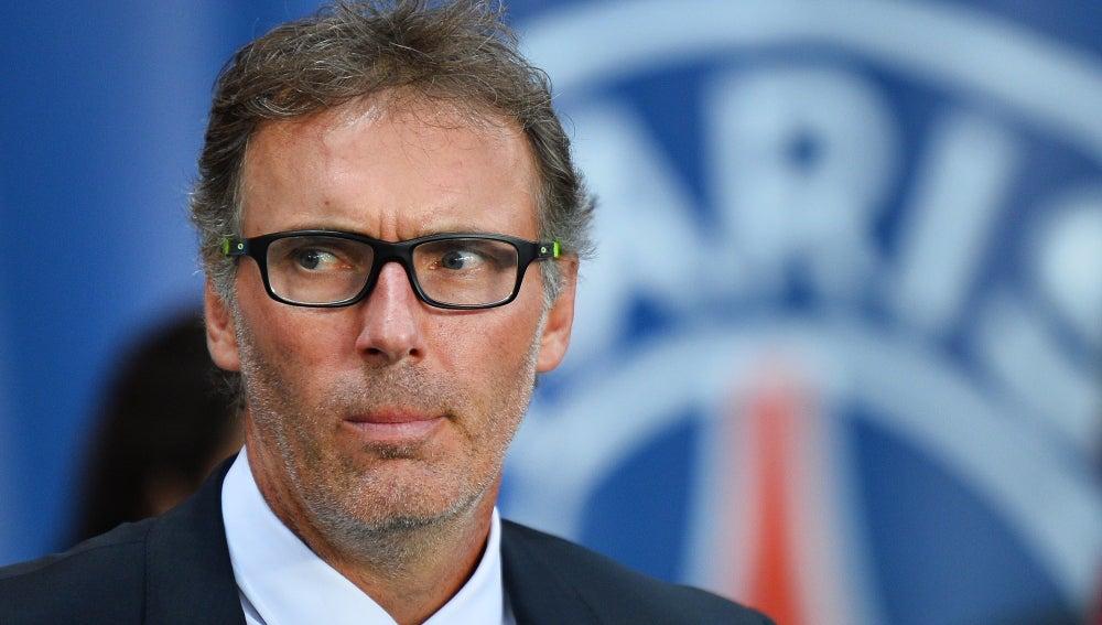 Laurent Blanc, en un encuentro con el PSG