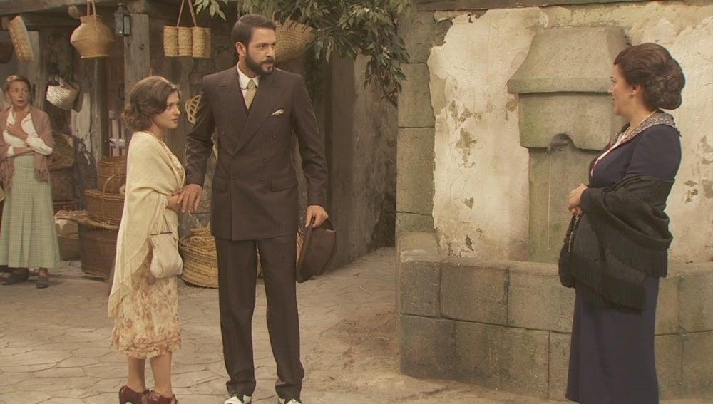 Candela y Severo tienen un duro enfrenamiento con Francisca