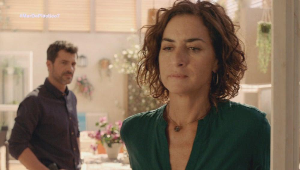 Marta y Héctor discuten