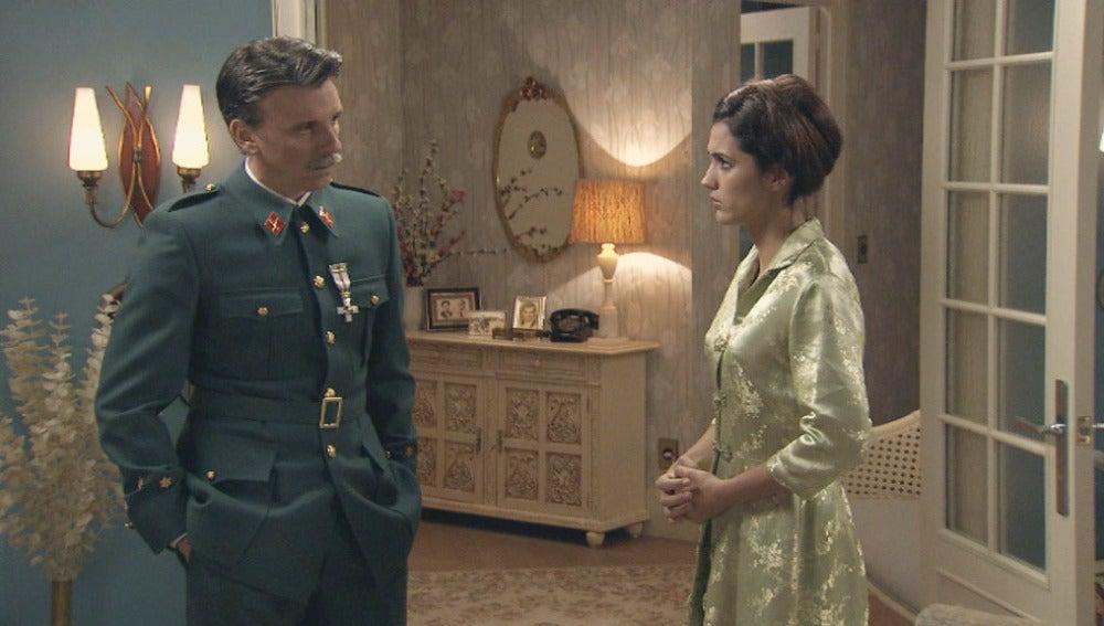 Sofía informa a su padre de la enfermedad que padece