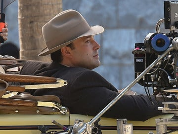 Ben Affleck en el rodaje de 'Live By Night'