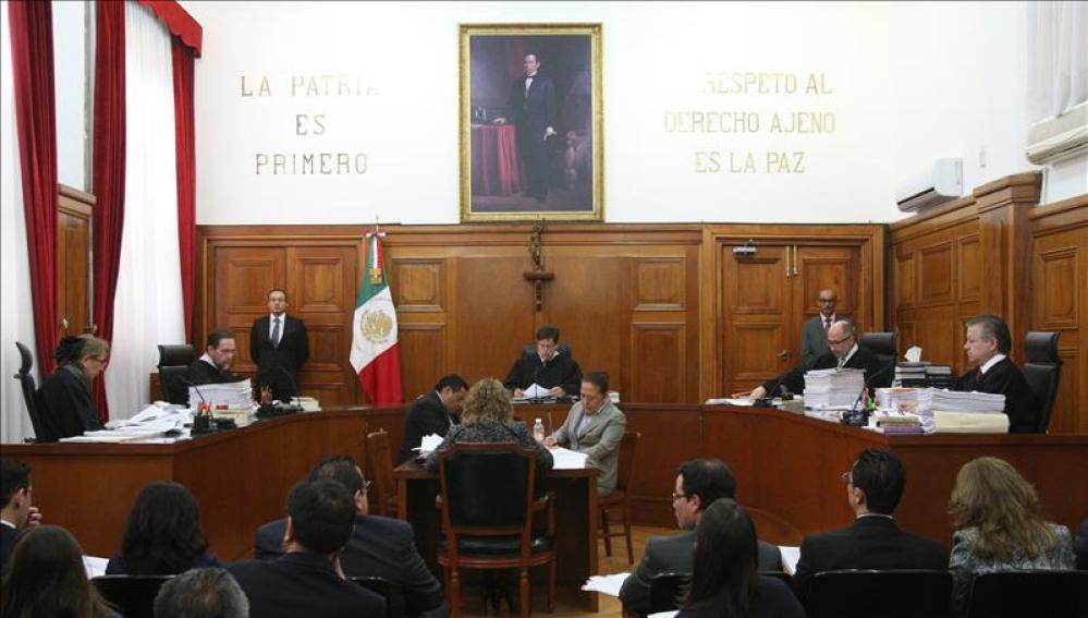 Sala de la Suprema Corte de Justicia de México