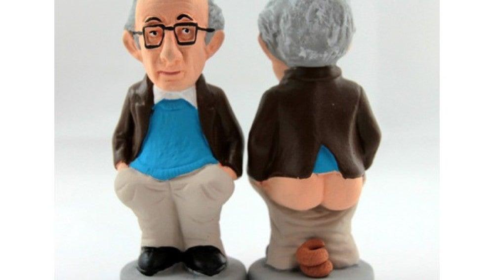 'Caganer' Woody Allen.
