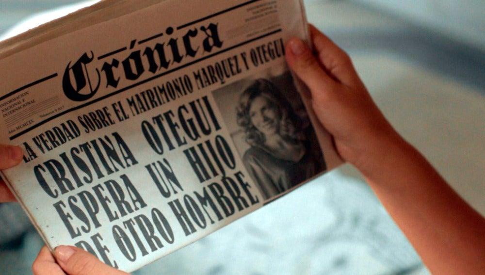 El engaño de Cristina aparece en portada