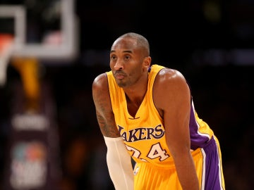 Kobe Bryant, durante un partido con los Lakers