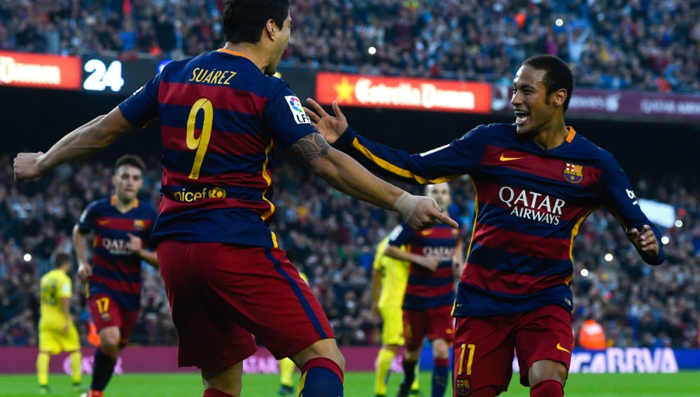 Neymar-Suárez delantera letal
