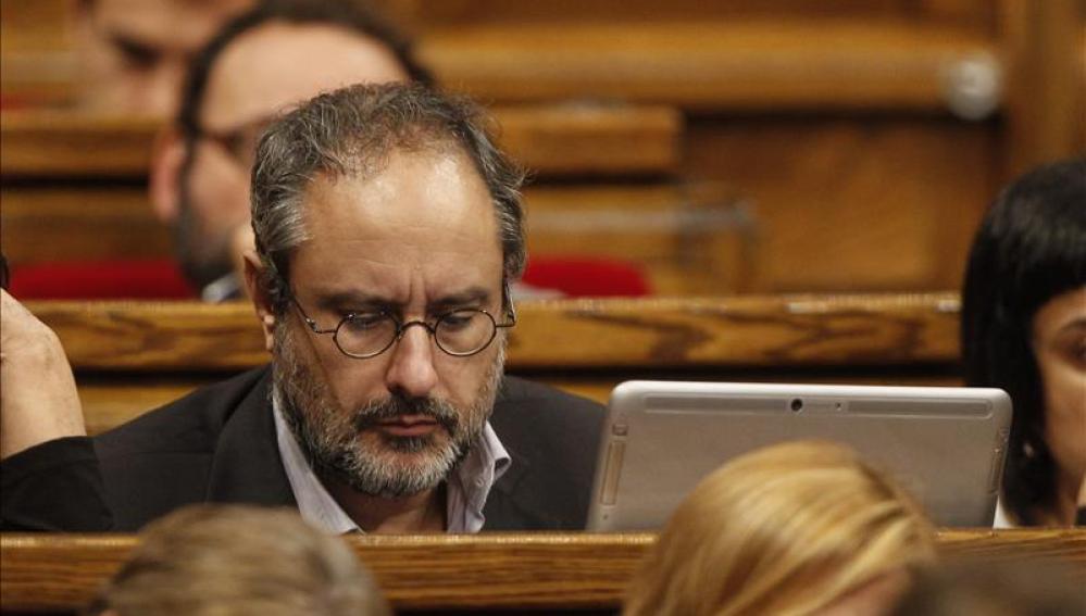 El diputado de la CUP, Antonio Baño
