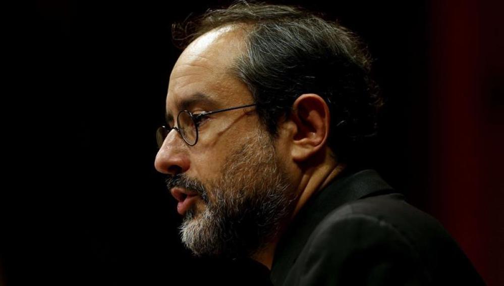 El diputado de la CUP, Antonio Baños