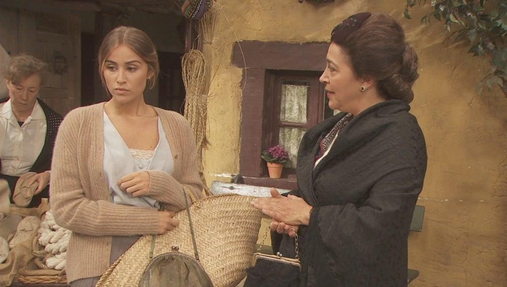 Berta se muestra tajante con FranciscaBerta se muestra tajante con Francisca