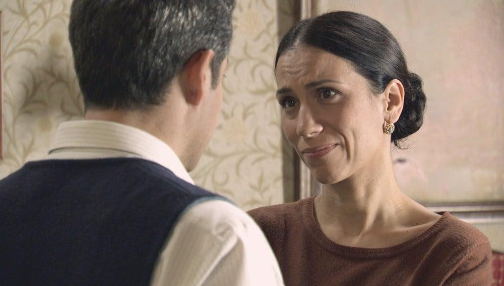Manolita trata de evitar que Ramón regrese a Tordesillas