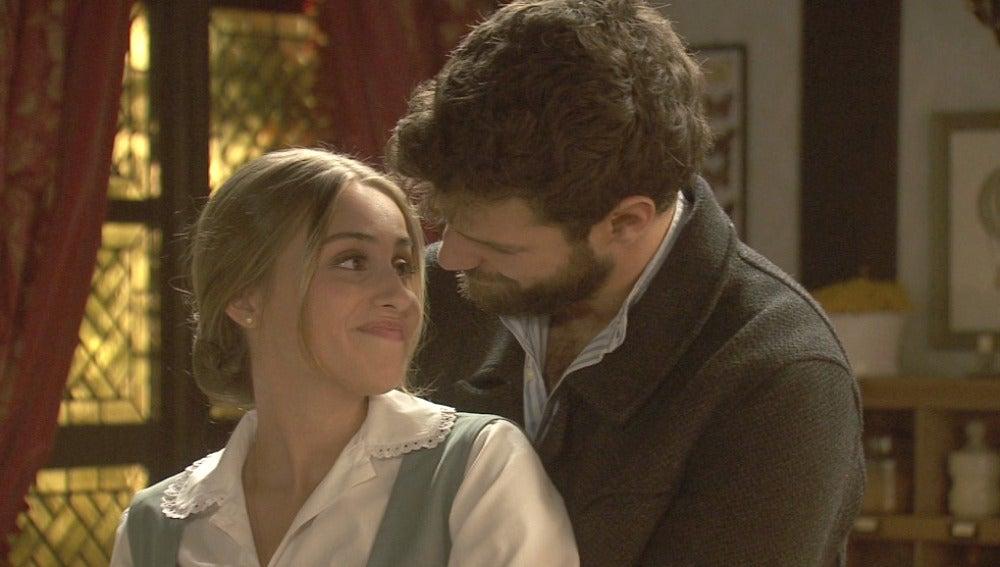 Berta y Bosco se demuestran su amor