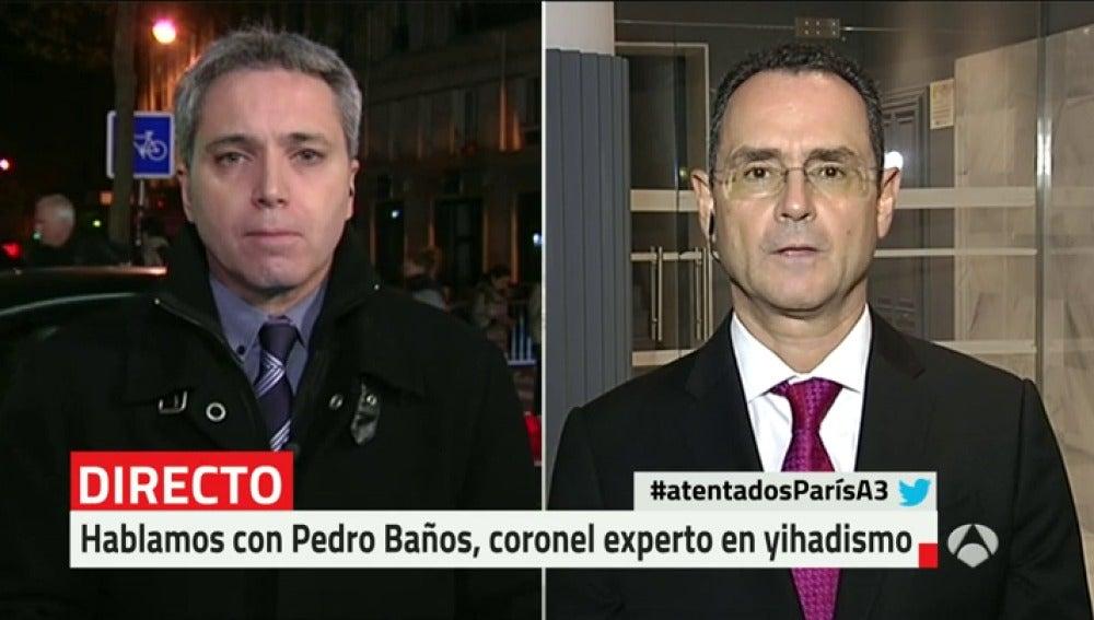 Antena 3 tv pedro ba os lo de par s es un reflejo de - Coronel banos ...