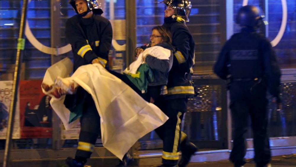 La evacuación de heridos ha sido una de las prioridades