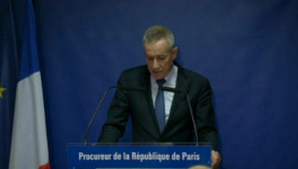 El fiscal genral francés, François Molins