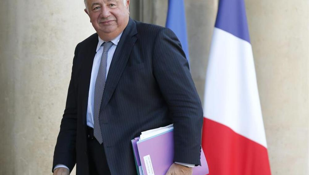El presidente del Senado francés, Gérard Larcher