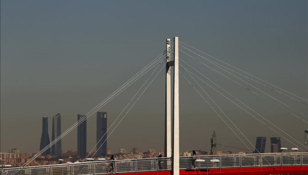 Madrid continúa con la 'boina' de contaminación
