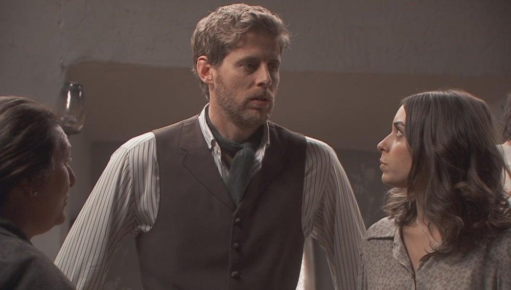 Rosario busca en Lucas un apoyo para hacer cambiar de idea a Mariana