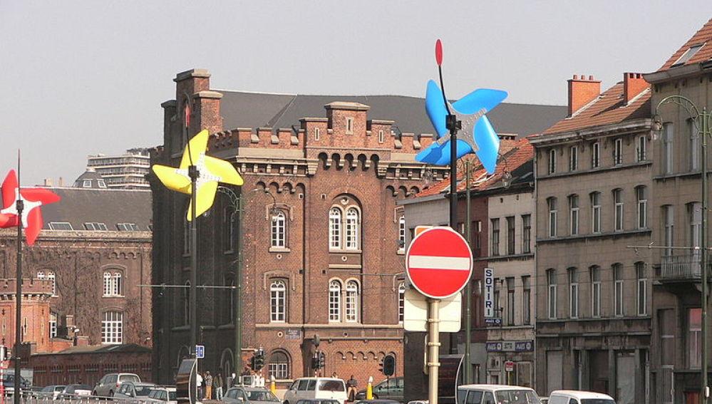 Barrio de Molenbeek, en Bruselas