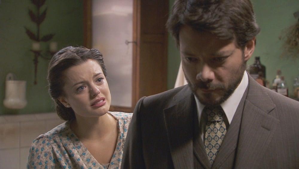 Lucas intenta asumir el matrimonio entre Sol y EliseoLucas intenta asumir el matrimonio entre Sol y Eliseo