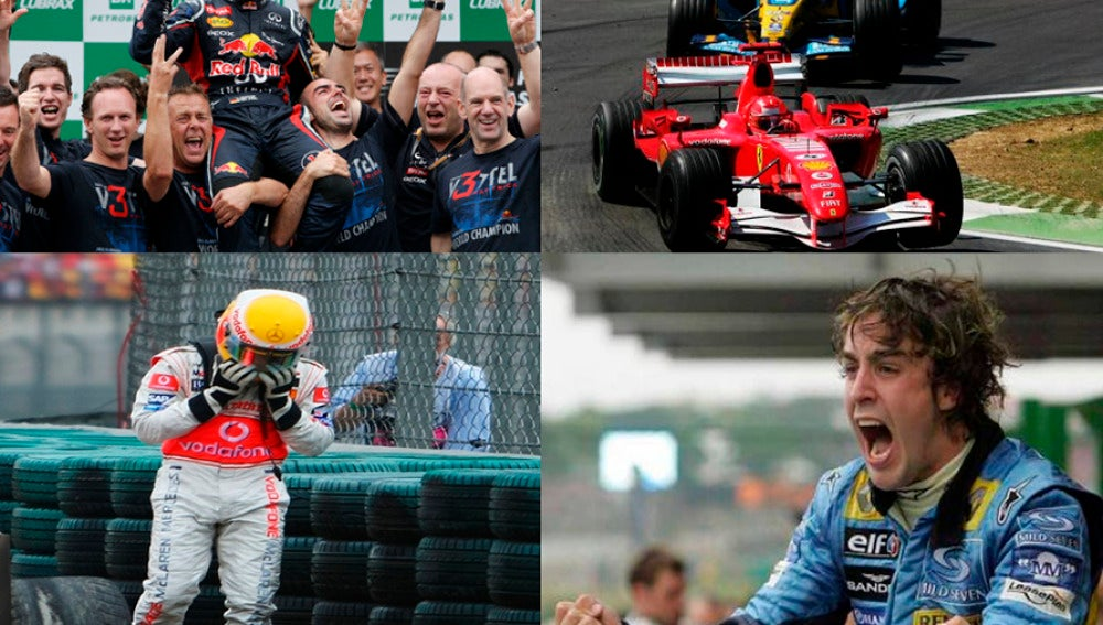 Momentos inolvidables de la Fórmula 1.
