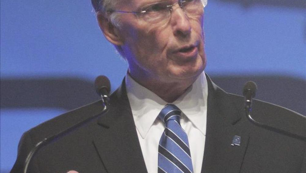 El gobernador de Alabama, el republicano Robert Bentley.