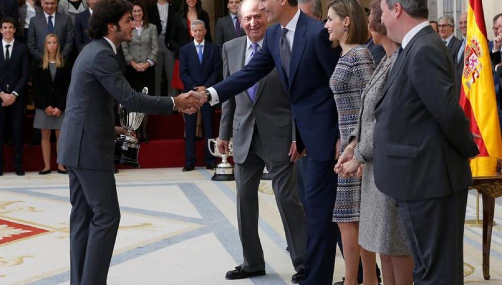 Carlos Sainz recoge el Premio Nacional del Deporte 2014