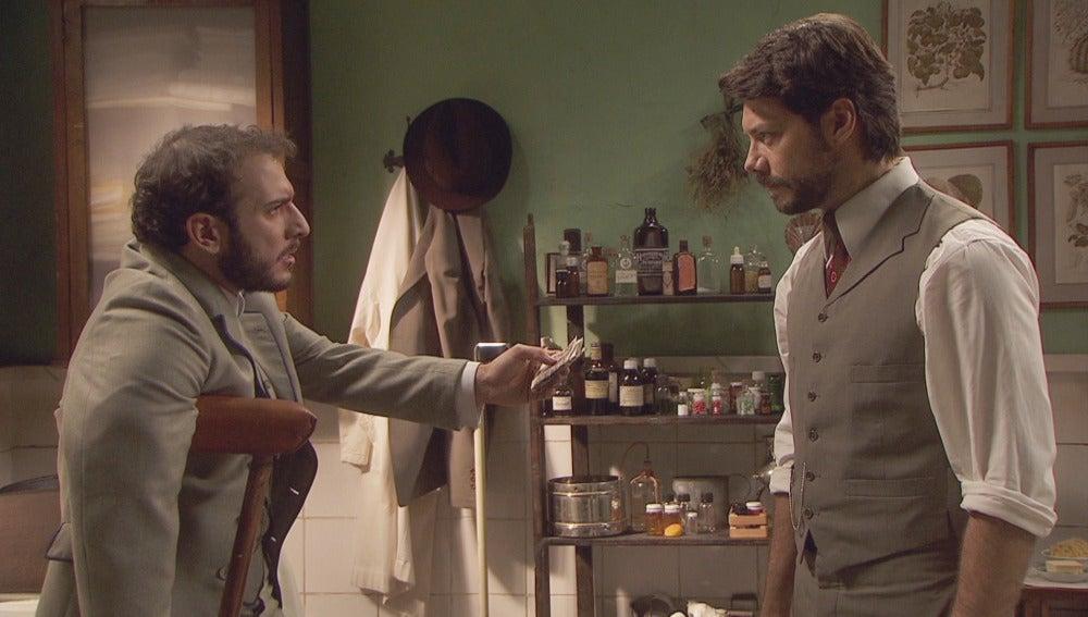 Lucas salvó la vida a Eliseo para  distanciarle de Sol