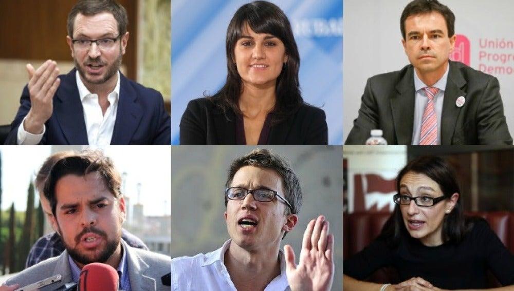 Políticos que debatirán en Twitter