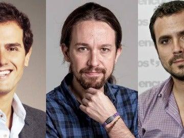 Rivera, Iglesias y Garzón