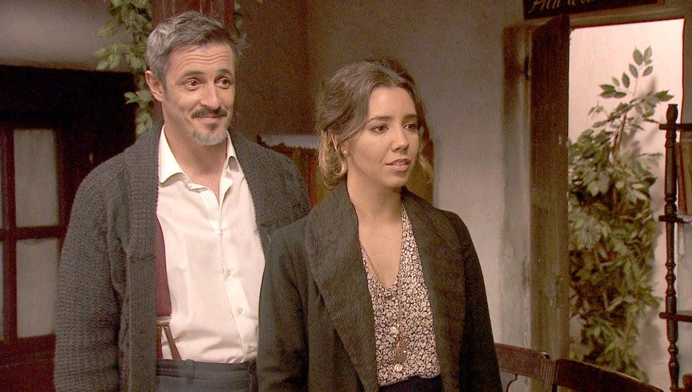Alfonso prepara una sorpresa para su mujer