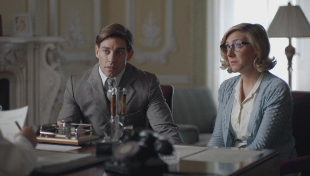 Pedro y Rita, torpes principiantes en la visita al ginecólogo