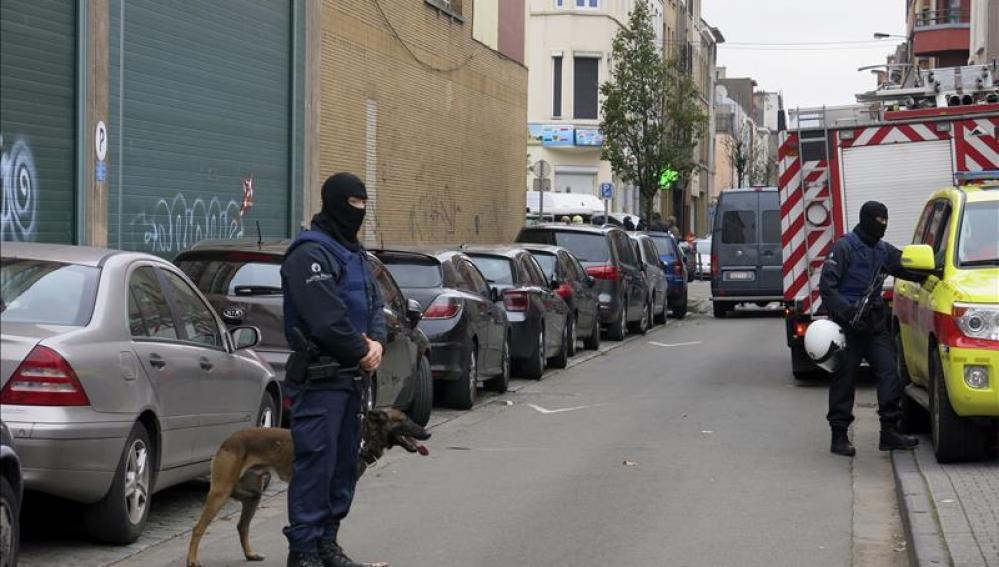 Agentes de la Policía federal de Bélgica