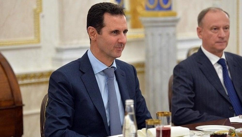 El presidente sirio, Al Asad